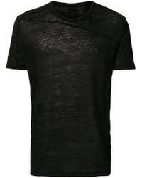 Thom Krom - Light Knitted T-shirt - Lyst