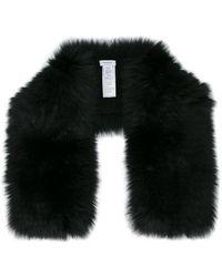 Inverni - Knitted Fox Fur Scarf - Lyst
