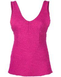Marni - Layered Knit Top - Lyst