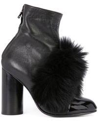 Valas - Pompom Boots - Lyst