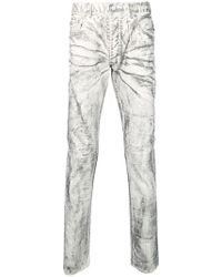 Fagassent - Coated Skinny Jeans - Lyst
