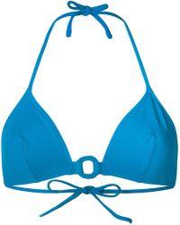 Eres - Top de bikini con forma triángular y circular - Lyst