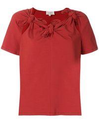 Isa Arfen - Tie Knots T-shirt - Lyst