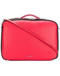 Calvin Klein - Structured Box Bag - Lyst