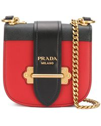 Prada - Cahier Cross-body Bag - Lyst