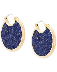 Pamela Love - Mojave Large Lapis Lazuli Earrings - Lyst