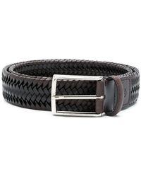 Canali - Braided Buckle Belt - Lyst
