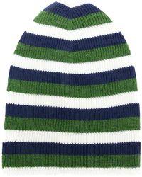 Sonia Rykiel - Striped Beanie Hat - Lyst