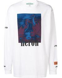 Heron Preston Sweatshirt mit grafischem Print