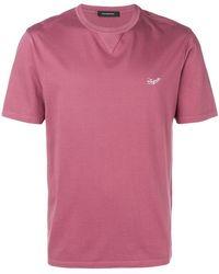 Ermenegildo Zegna - Contrast Logo T-shirt - Lyst