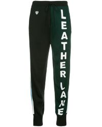 Ports 1961 - Leather Lane joggers - Lyst