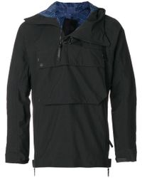 The North Face - Zipped Neck Hoodie - Lyst