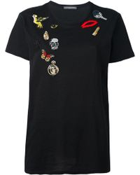 Alexander McQueen - 'Obsession' T-shirt - Lyst