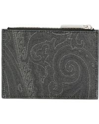 Etro - Patterned Coin Pouch - Lyst