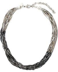 Iosselliani | 'black Hole Sun' Necklace | Lyst