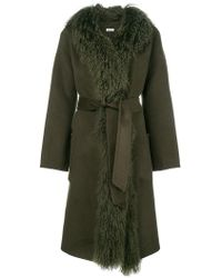 P.A.R.O.S.H. - Belted Robe - Lyst