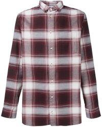 Natural Selection - Long Pocket Checked Shirt - Lyst