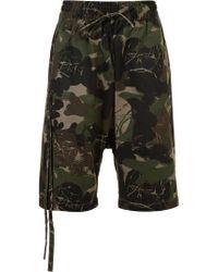 Haculla - Camouflage Print Bermuda Shorts - Lyst