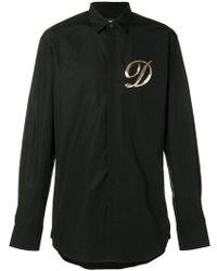 DSquared² - Embellished D Shirt - Lyst