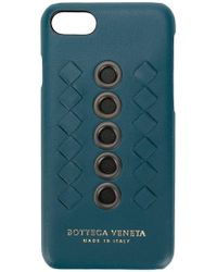 Bottega Veneta - Coque d'iPhone 7 à détail en cuir tressé Intrecciato - Lyst