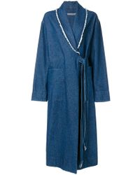 Raquel Allegra - Denim Duster Jacket - Lyst