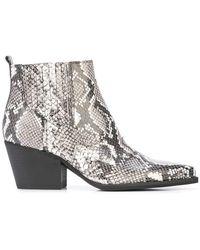 Sam Edelman - Winona Snake Boots - Lyst