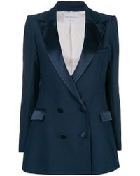 Hebe Studio - Double-breasted Fitted Blazer - Lyst