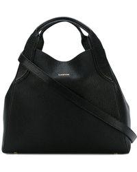Lanvin - Mini Cabas Tote Bag - Lyst