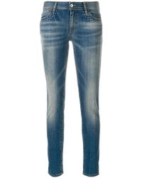 Just Cavalli | Bead Detail Jeans | Lyst