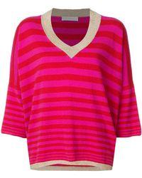 Giada Benincasa - Cashmere Metallic Trim Sweater - Lyst