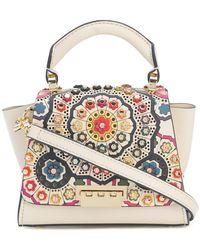 Zac Zac Posen - Floral Embossed Patterned Mini Bag - Lyst