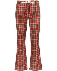 Miaou Morgan Plaid Pants