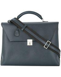 Valextra - Rectangular Briefcase - Lyst
