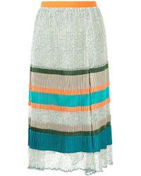 Kolor - Pleated Panel Skirt - Lyst