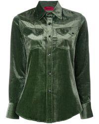 The Gigi - Corduroy Shirt - Lyst