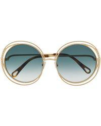 Chloé Carlina Chain Sunglasses