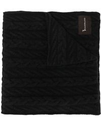 Billionaire - Cable Knit Scarf - Lyst