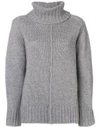 Hemisphere - Oversized Roll-neck Sweater - Lyst