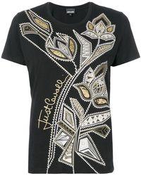 Just Cavalli - Printed T-shirt - Lyst