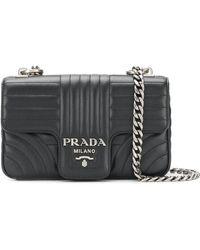 Prada - Bevelled Shoulder Bag - Lyst