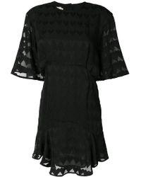 Maison Kitsuné - Juliet Frilled Dress - Lyst
