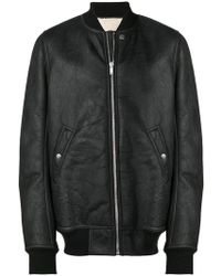 Rick Owens - Flight Bomber Jacket - Lyst
