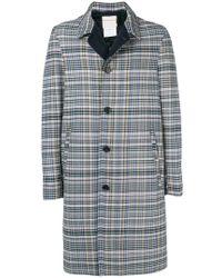 Stephan Schneider - Weave Checked Coat - Lyst