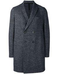 Harris Wharf London - Classic Double-breasted Coat - Lyst