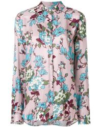 Department 5 - Floral Print Shirt - Lyst
