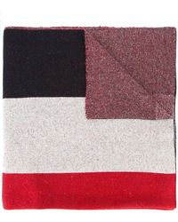 Undercover - Colour Block Scarf - Lyst