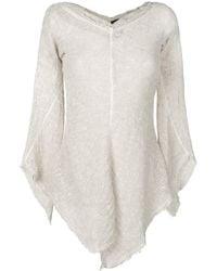 Andrea Ya'aqov - Asymmetric Knitted Top - Lyst