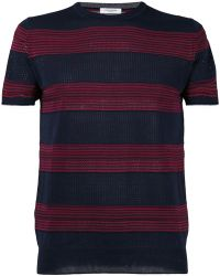 Paolo Pecora - Striped Sweater - Lyst