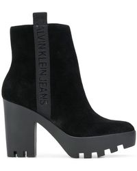Calvin Klein - Ankle Boots - Lyst