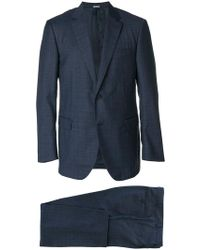 Lanvin - Single Breasted Two-piece Suit - Lyst